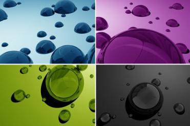 Water Drops 3D