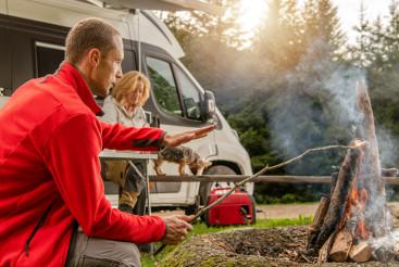 Weekend RV Camping Getaway