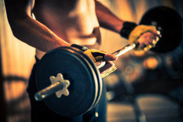 Weight Lifting in a Gym