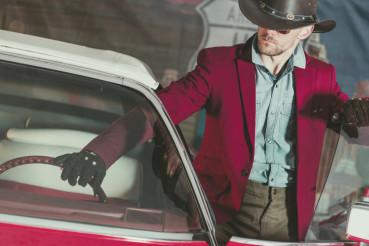 Western Wear Cowboy Driver