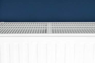 White Residential Heating Radiator