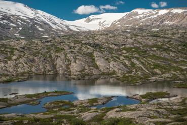 Wild Tent Camping and the Scenic Saltfjellet Svartisen National Park