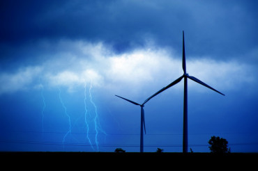 Wind Turbines and Storm