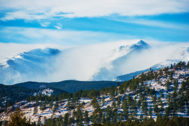 Winter Colorado Rockies