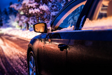 Winter Night Drive