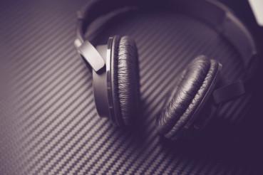 Wireless Headphones Closeup