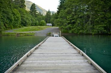 Wood Boat Dock