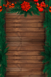 Wood Holiday Background