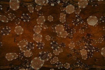 Wooden Casino Backdrop