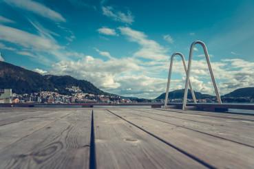 Wooden Deck in Bergen