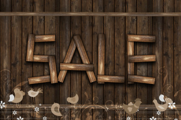 Wooden Sale Event