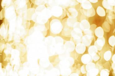 Yellow Blur Lights