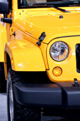 Yellow Off Road Car