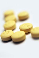 Yellow Pills Closeup