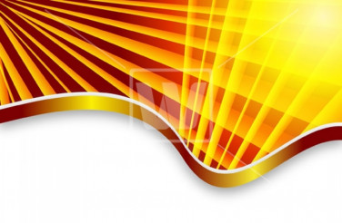 Yellow Rays Vector