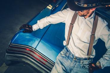 Young Cowboy Driver