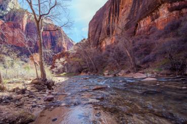 Zion Park Virgin River