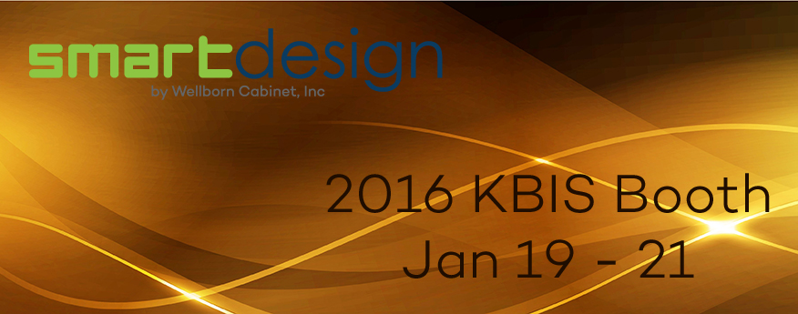 KBIS 2016 booth display Wellborn Smart Design cabinetry