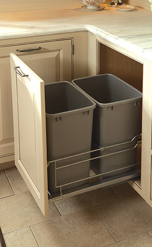 Wastebasket Cabinet