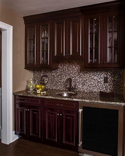 Refreshment Center Cabinets | Hutch Room | Wellborn