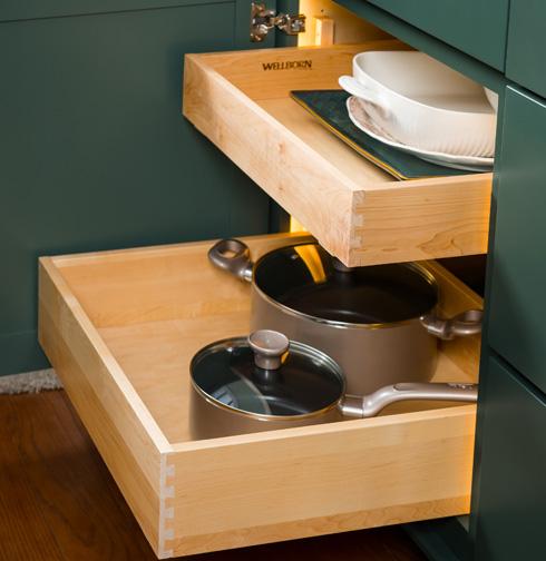 Sliding Shelf