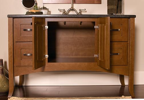 Vanity Sink Drawer Base