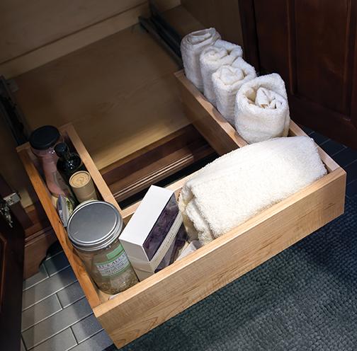 U-Shaped Sliding Shelf