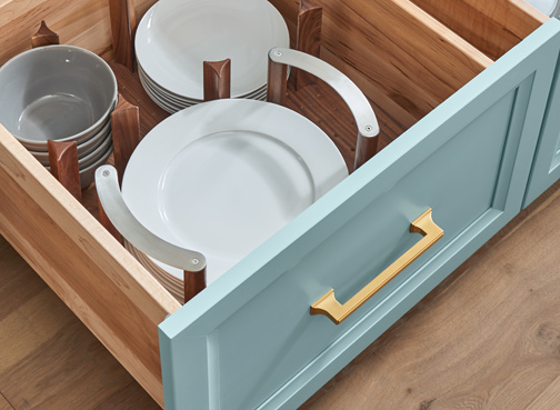 Deep Drawer Plate Holder