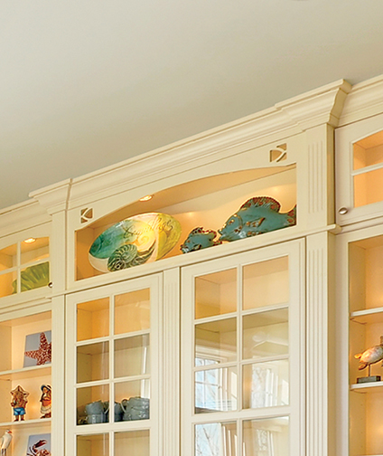 Open Display Wall Cabinet