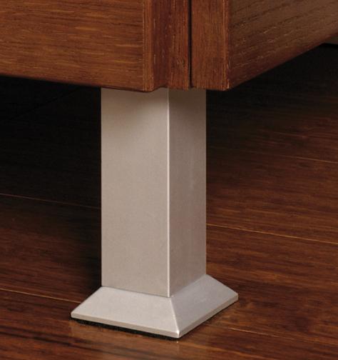 Feet - Aluminum Square