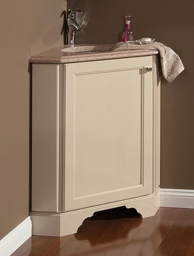 Diagonal Corner Vanity Sink