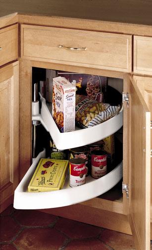 Base Blind Corner with Functional Shelves