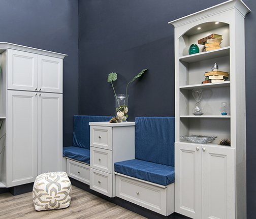 cabinets cottage grey lilypad the mudroom painted cabinet