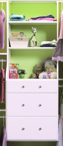 Shelf & Drawer