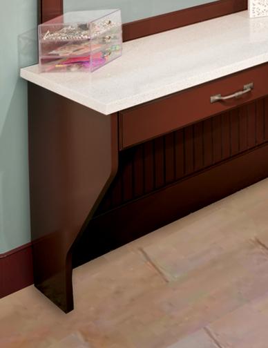 Desk End Panel
