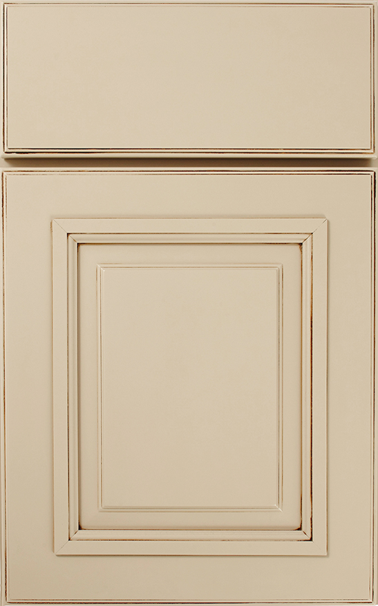 Hartford, Array Cabinet Door Style with a Sandstone Slate Finish