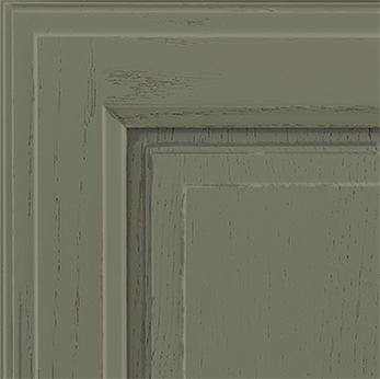 Finish: Olive Pewter sample chip