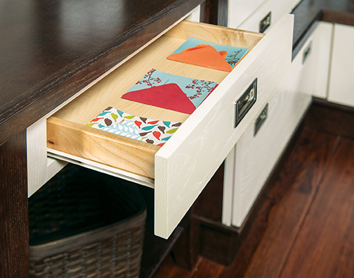 Desk Drawer Apron