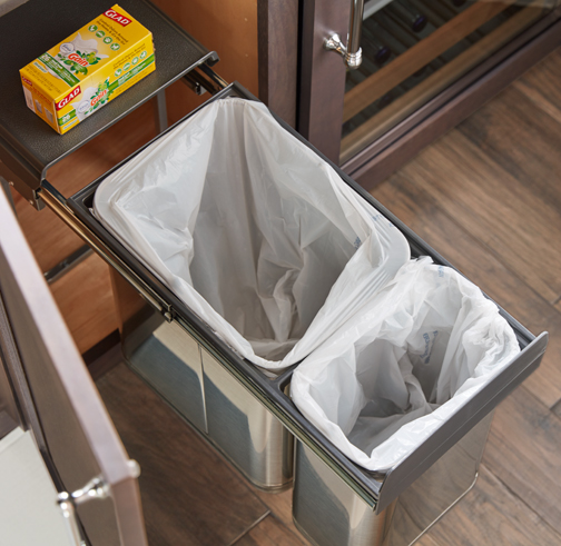 Under Sink Wastebasket