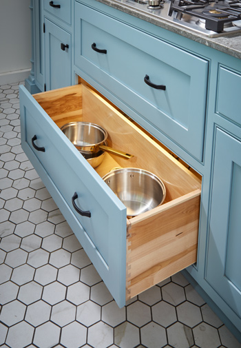 Reduced Depth Drawer