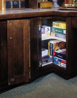 Desk Easy Reach Corner