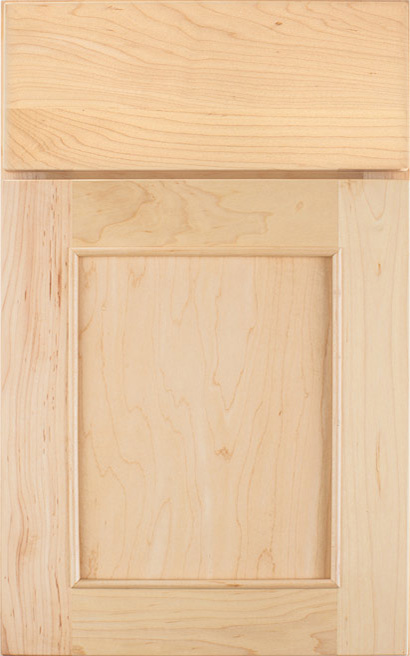 Lexington Maple cabinet door finished in Natural with a Slab Drawer Front Standard - Product line id was not supplied.