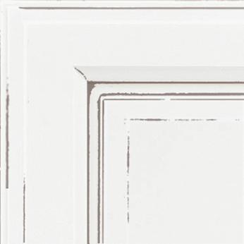 Bright White Java Paint with Glaze
