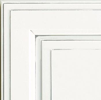 Finish: Oyster White Granite sample chip