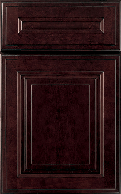Madison Square Array Cabinet Door Style with a Garnet Charcoal Finish & Cabinet Door Styles | Madison Square Doors | Wellborn pezcame.com
