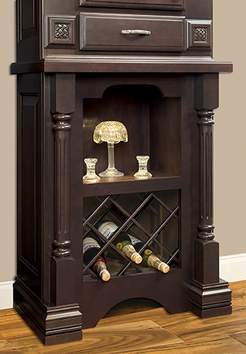 Open Display Base Cabinet