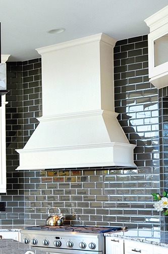 Wood Chimney Hoods ~ Range hoods island wood metal
