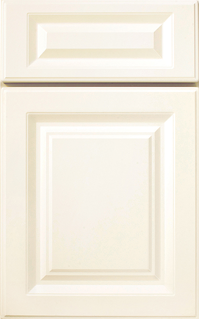 sea spray square array cabinet door style with a linen finish