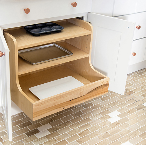 Pot & Pan Base Pullout