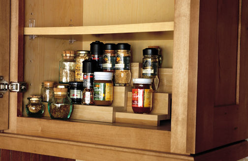 Tiered Spice Storage Shelf